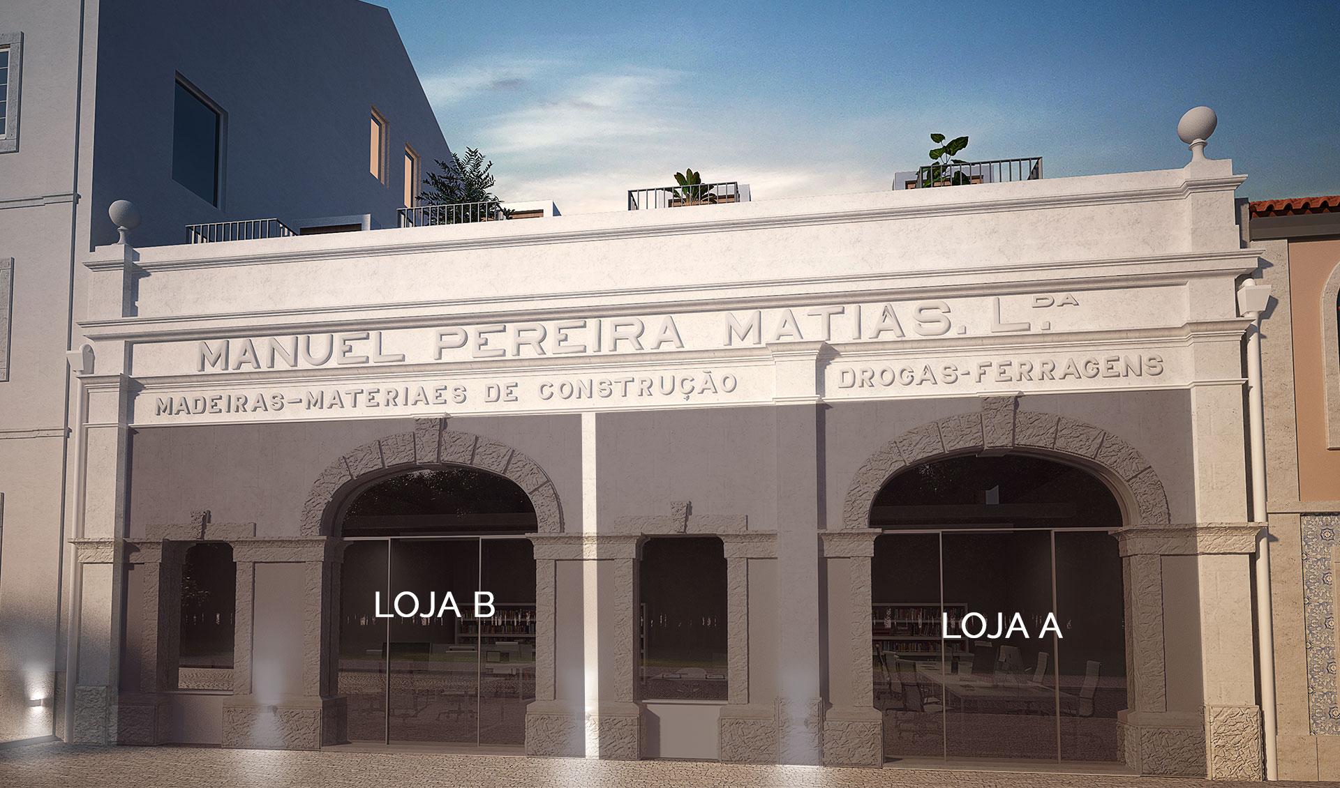 Fachada Lojas Villa Torrinha